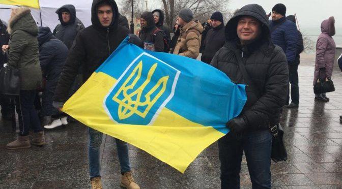 В Одессе присоединились ко всеукраинскому маршу за отставку президента (ФОТО)