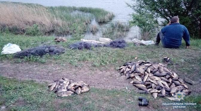 Под Лиманом задержаны браконьеры с 300 кг выловленной рыбы
