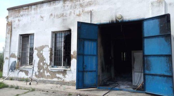 На границе Одесской области с Приднестровьем неизвестные с оружием сожгли водонасосную станцию