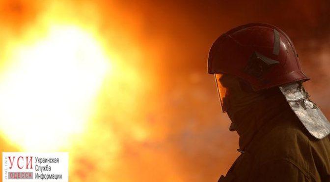 В Березовке на складе возник пожар
