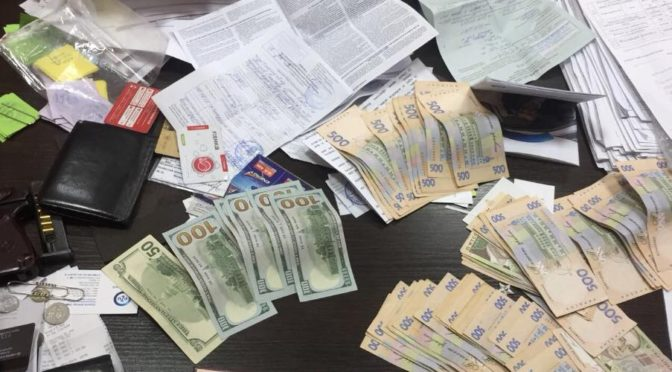 Начальник Балтского отдела полиции попался на взятке