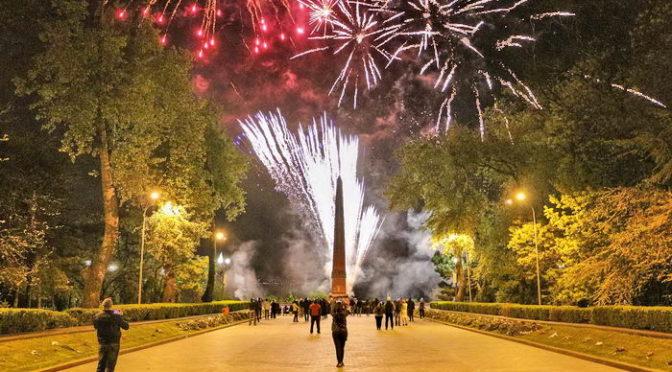 В Одессе 9 мая устроили мощный салют, на который никто не пришел
