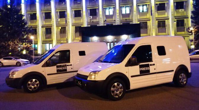 Внезапные броневики в Одессе: журналист провел необычный флешмоб