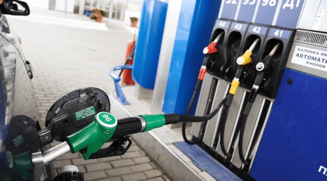 Бензин в Украине продолжает дорожать