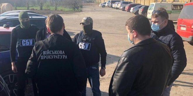 В Одессе на взятке в 40 тысяч долларов попался чиновник «Военторгсервиса»